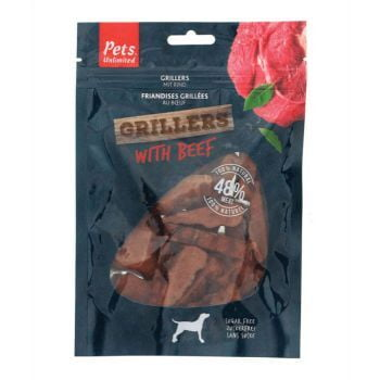 Pets Unlimited Grillers with Beef - 100G (DOG TREAT)