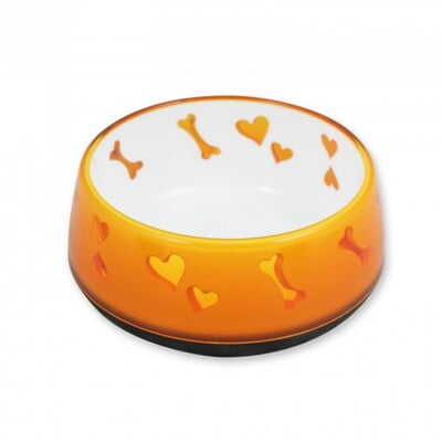 ALL FOR PAWS DOG LOVE BOWL -  LARGE