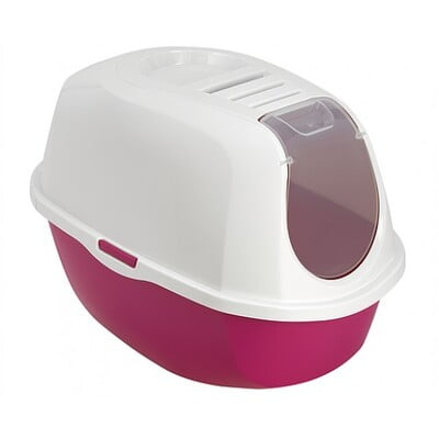 MODERNA SMART CAT - CLOSED LITTER BOX - PINK - C370