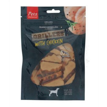 Pets Unlimited Grillers with Chicken - 100G Dog Treat