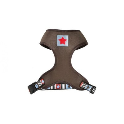 BOBBY MUSIQUE T-SHIRT HARNESS - BROWN