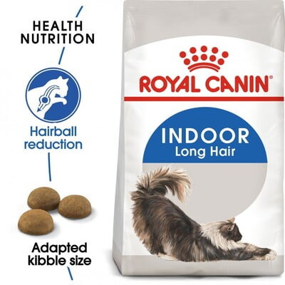 Royal Canin Feline Health Nutrition Indoor Long Hair 2KG