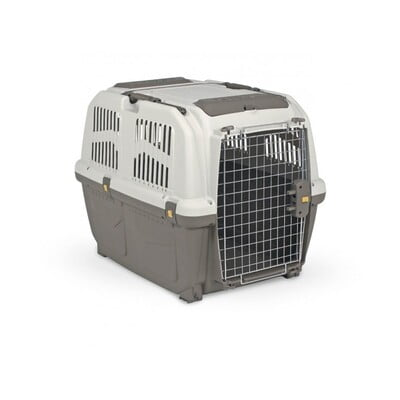 MPS2 TRAVEL CRATE SKUDO 5 IATA L79 X W58.5 X H65CM - L GREY