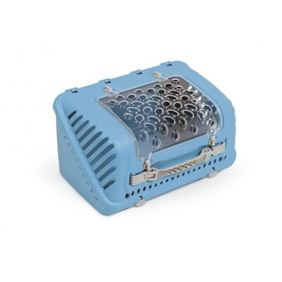 TRAVEL CRATES MPS2 P-BAG PET CARRIER - BLUE