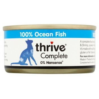 Thrive Cat Food Ocean Fish 75G