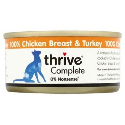Thrive Complete Cat Chicken & Turkey Wet Food