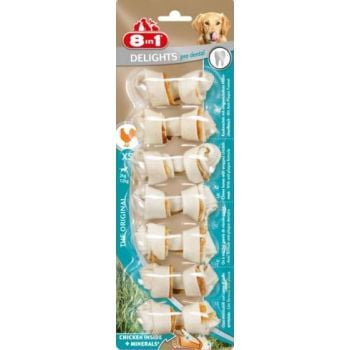 8in1 Dental Bones XS 7counts (Dog Treat)