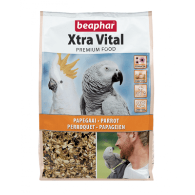 XTRAVITAL PARROT FEED 2.5KG (NEW FORMULA)