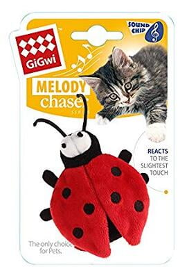 Gigwi Melody Chaser Beetle W/ Motion Activated Sound Chip (Bee Sound)