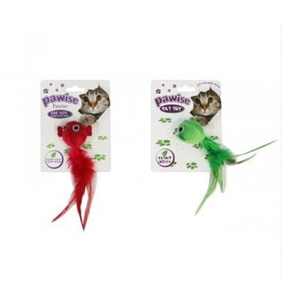 PAWISE BIRD CAT TOY :28136