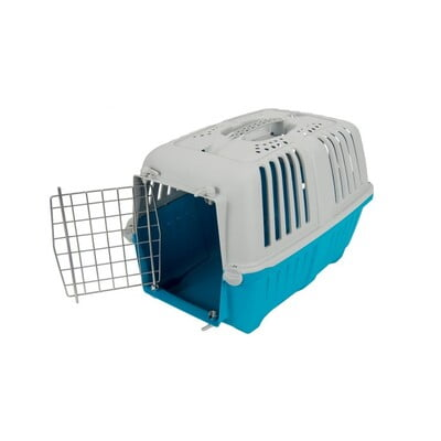 TRAVEL CRATES MPS2 PRATIKO 1 METAL L48XW31.5XW33 - S BABY BLUE