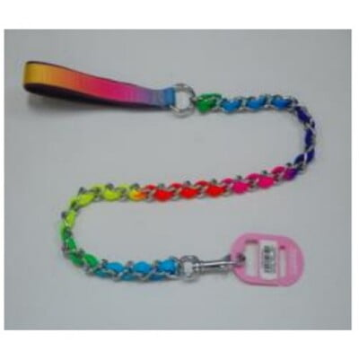 PANDA CHAIN RAINBOW LEASH 2.5mm*110cm(17121927)