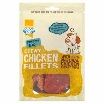 ARMITAGE CHEWY CHICKEN FILLETS - 80G