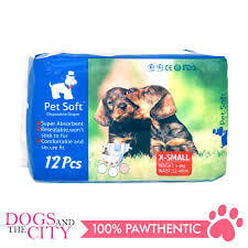 Pet Soft Disposable Diaper x small