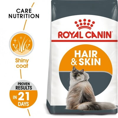 Royal Canin Feline Care Nutrition Hair & Skin 10KG
