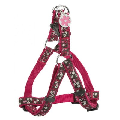 BOBBY FLOWER HARNESS - PINK