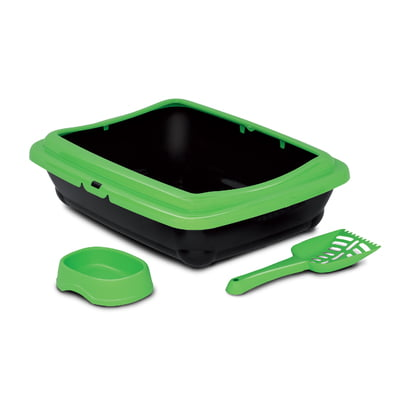 MP BERGAMO BIRBA KIT (Litter Box+Scoop+Bowl)