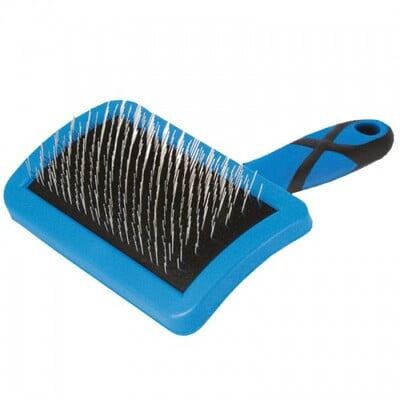 GROOM PROFESSIONAL SMALL CURVED FIRM SLICKER BRUSH :850282b