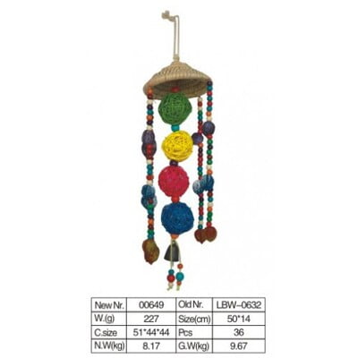 PADO BIRD TOY NATURAL AND CLEAN 0629-1
