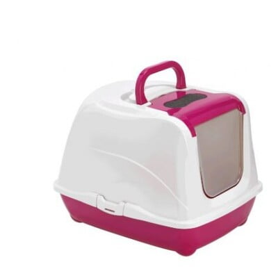 MODERNA FLIP-CAT LARGE 39X50X37 CM PINK  LITTER BOX