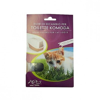MPS CARBON FILTERS FOR KOMODA CAT LITTER TRAY