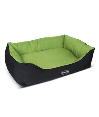 Scruffs Expedition Dog Bed (LIME LARGE)