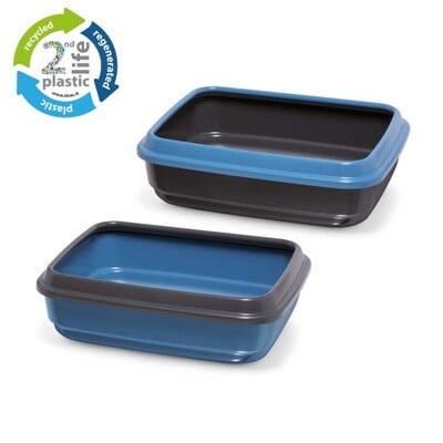 IMAC JERRY SECOND LIFE PLASTIC CAT LITTER TRAY[CAT TOILET]-50 x 40 x 14.5 cm-84496R