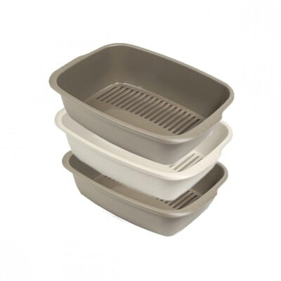 MPS MISO LITTER TRAY - BROWN