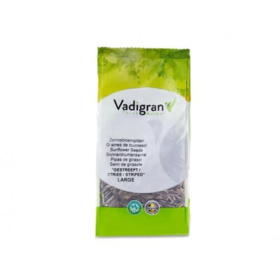 VADRIGAN SUNFLOWER SEED LARGE STRIPED 400G