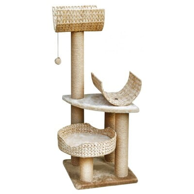 FAUNA PALUCCO CAT PLAY TOWER - BEIGE