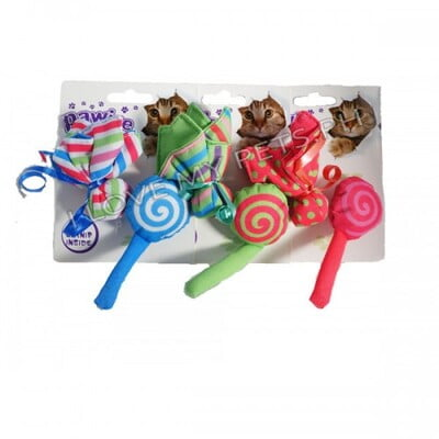 PAWISE CANDY & FLOWER CAT TOY:28124
