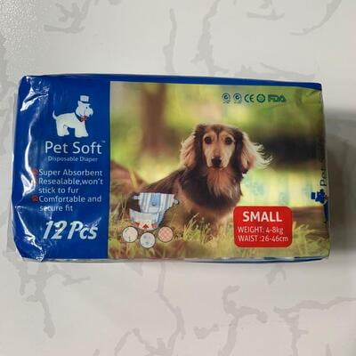 Pet Soft Disposable Diaper Small