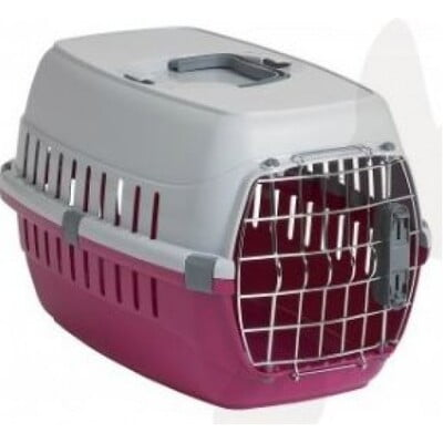 MODERNA TRAVEL CRATE ROAD RUNNER WITH IATA LOCK PINK (T103)