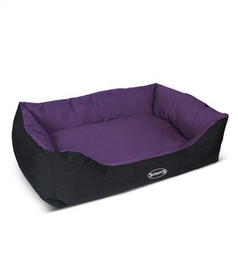 Scruffs Expedition Dog Bed (PLUM)
