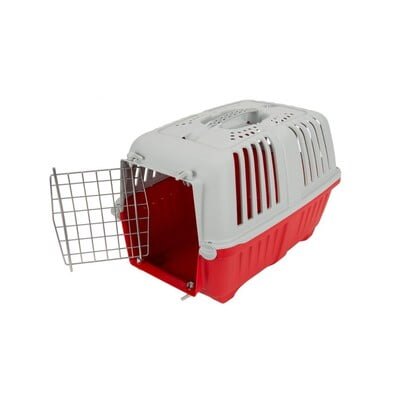 TRAVEL CRATES MPS2 PRATIKO 1 METAL L48XW31.5XW33 - S ROSE RED