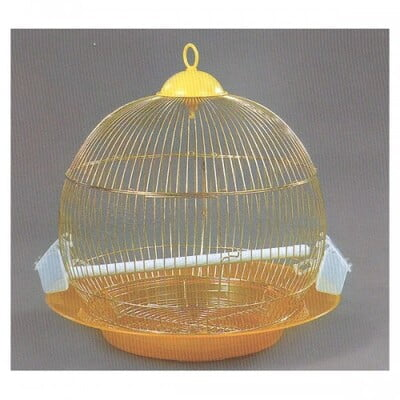 DAYANG BIRD CAGE DNG (ROUND): SIZE: 46X46 GOLD