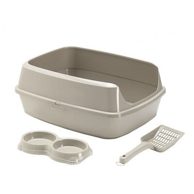 MODERNA KITTYCAT STARTER KIT GREY (AA77) LITTER TRAY
