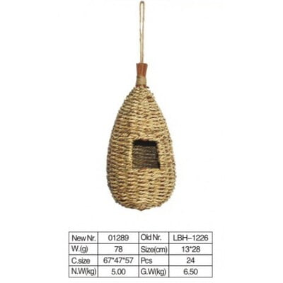 PADO BIRD TOY NATURAL AND CLEAN 1226