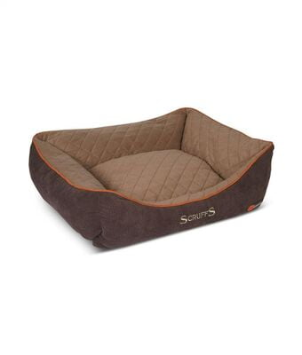 Scruffs Thermal Dog Bed BROWN
