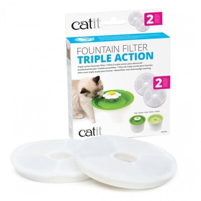 HAGEN CATIT 2.0 TRIPLE ACTION FILTER - 2 PACK