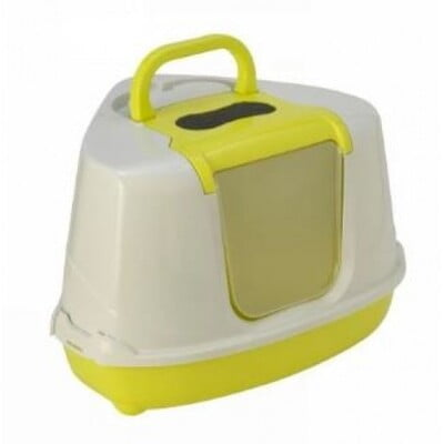 MODERNA LITTER BOX CORNER LEMON (C250)