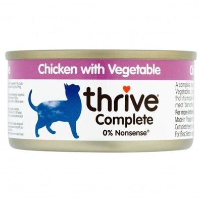 Thrive Complete Cat Chicken w/ Vegetable Wet Food 75G