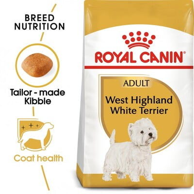 Royal Canin Breed Health Nutrition Westie Adult 3KG