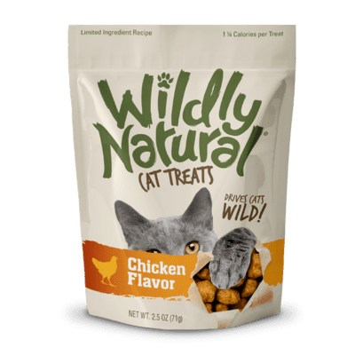 Fruitables Wildly Natural Cat Treats - Chicken Flavor (71g)