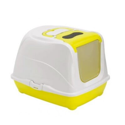 MODERNA FLIP-CAT LARGE 39X50X37 CM LEMON LITTER BOX